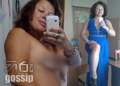 Female teachers NAKED selfie posted online by mistake