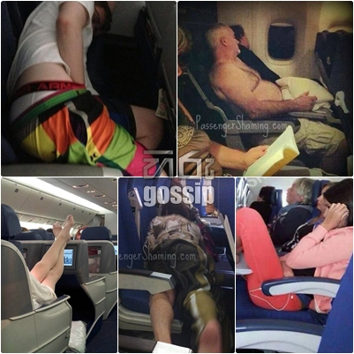 Several habits that disgust when traveling on plane