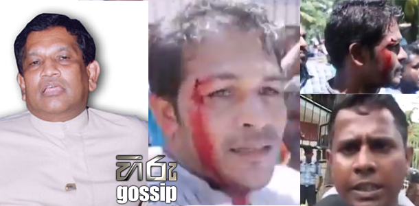 minister rajitha s thugs attacks to fisherman
