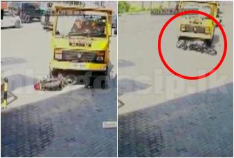රැකියාව බලා නිවසින් ගිය 21 හැවිරිදි තරුණයෙකු කොට්ටාවේදී ජීවිතය බිලිදුන් හැටි  CCTV Video