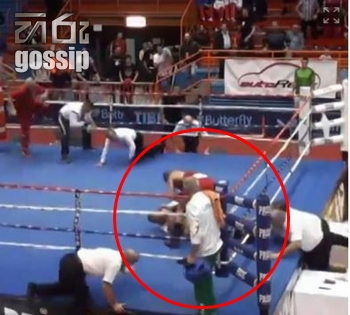 Boxer Vido Loncar Attacks Referee After Losing Fight