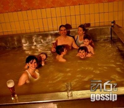 beer pool in austria