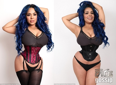 The woman with a 16-inch waist