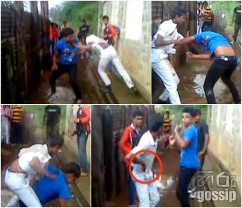 School children fight bandarawela