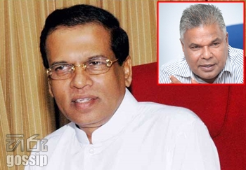 Relatives of Maithreepala Sirisena talks