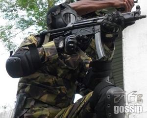 STF camp gunshot in deniyaya