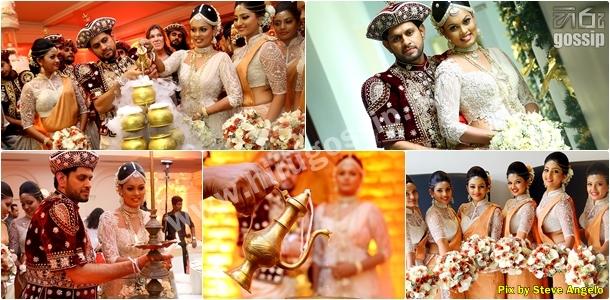 Menaka Peiris Wedding Day