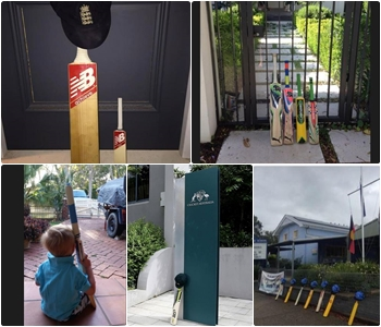 #PutOutYourBats A moving Twitter tribute for cricketer Phillip Hughes