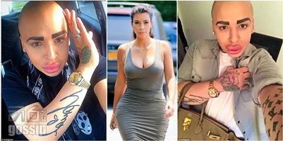 Kim Kardashian fan Jordan James Parke spent $150,000 on more than FIFTY cosmetic procedures to transform into idol