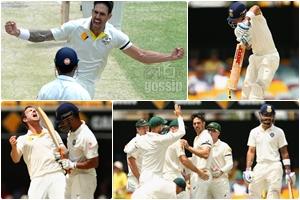 AUSTRALIA VS INDIA 2ND TEST MATCH
