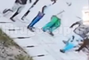 පල්ලමදී ඇතිවූ දේශපාලන ගැටුම 4ක් රෝහලට යැවූ හැටි  සියළු දේ CCTV කැමරාවක සටහන් වෙයි  Video - fight at pallama anamaduwa