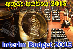 Government Sri Lanka Interim Budget 2015 | Athuru Aya waya 2015