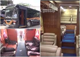 luxury bus found