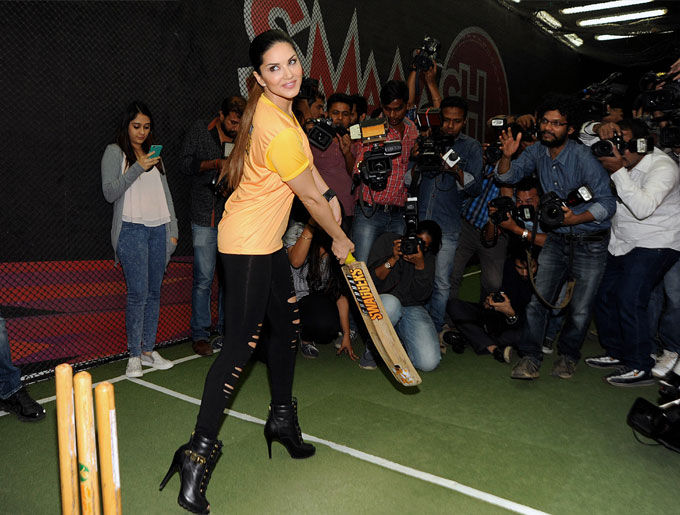 actress sunny leone is involved in a new game   actress