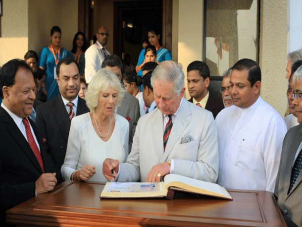 arrival of prince charles on events   photo gallery   hiru