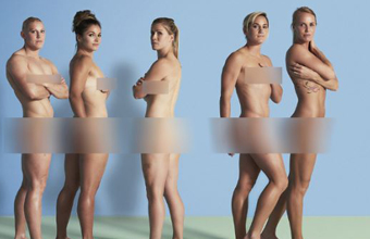 Members of England Women's rugby team pose nude to promote